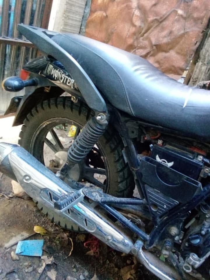 Vendo moto marca Haojin 150