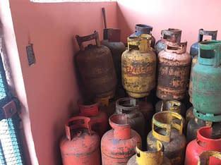 Venta de cilindros de gas vacíos