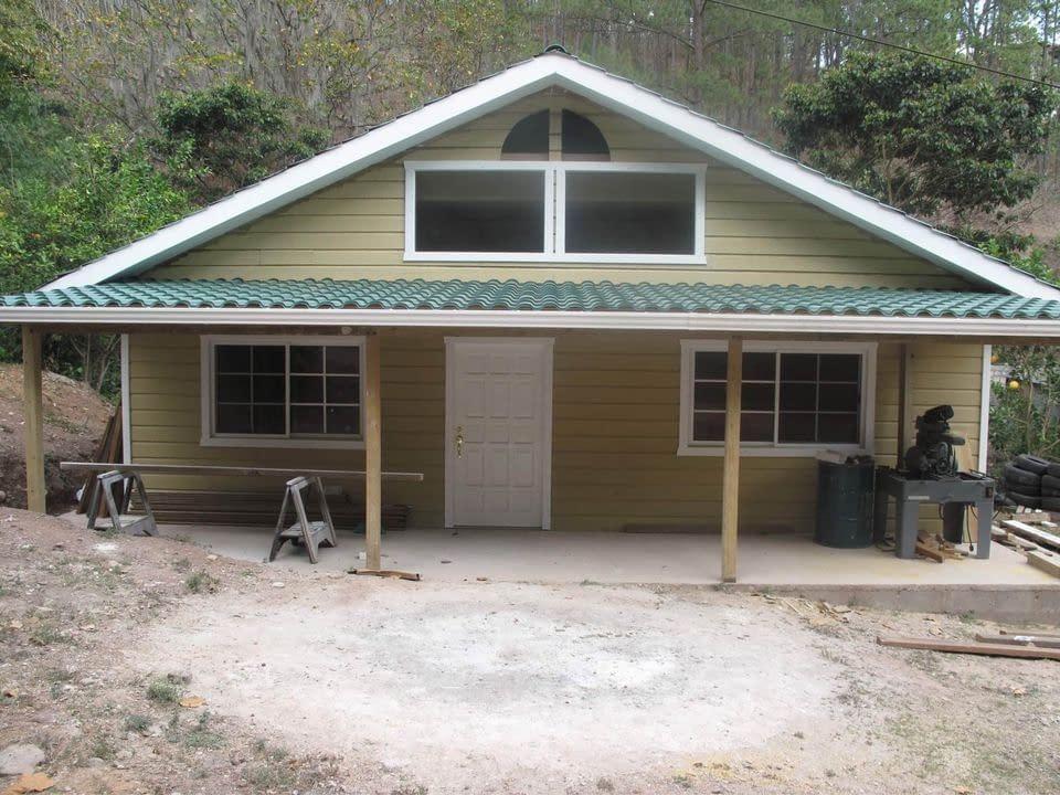 Casas, cabañas de madera