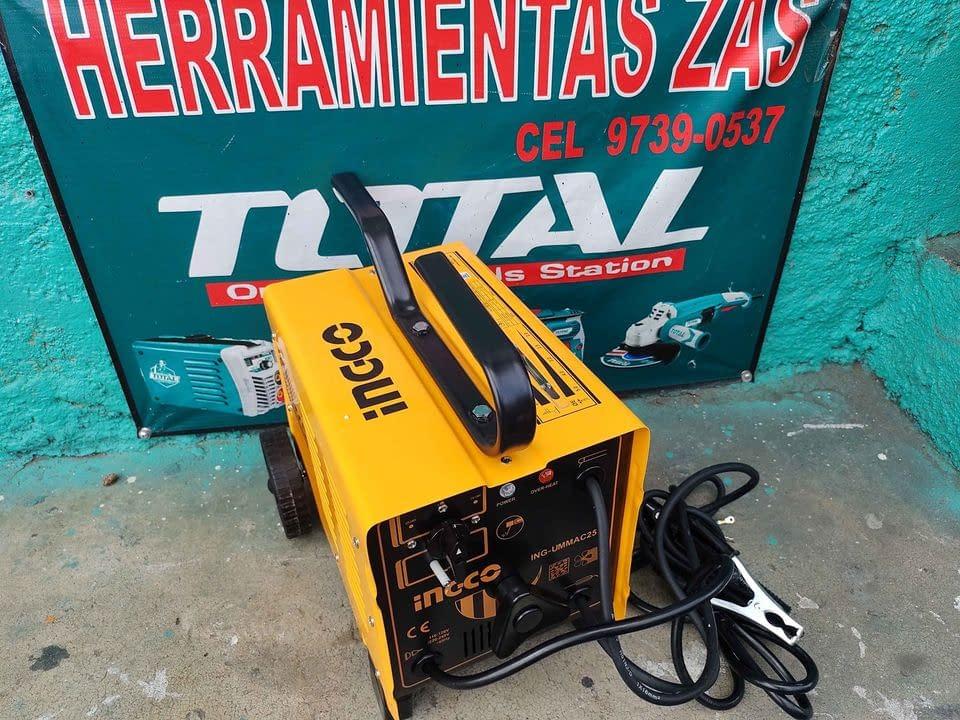 Soldadora industrial INGCO 250 amperios 110 y 220