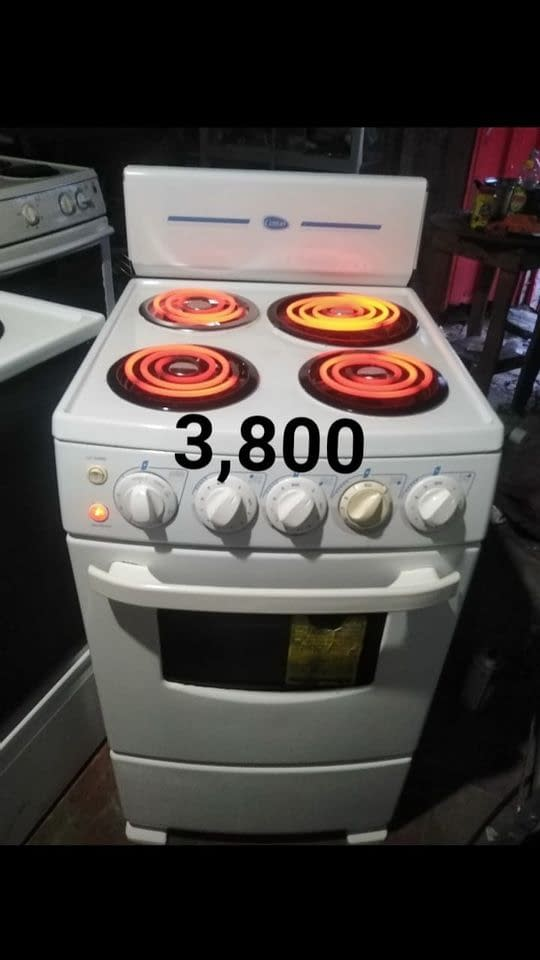 Estufa cetron al 100 con hornillas nuevas‼️
