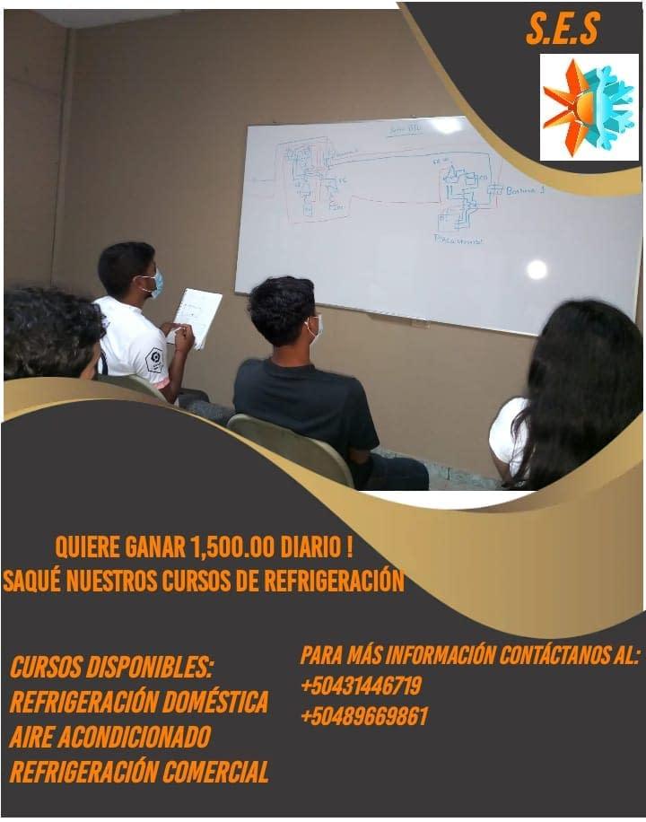 Venta de cursos Aires acondicionados Mas